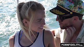 PORNFIDELTY Alina West Ass Fucked On A Boat
