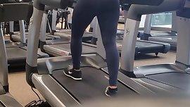 Candid Booty Arabic Gym Babe Pt. 1