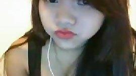 An asian dream girl chatting