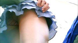 bajo falda universitaria calzon colores