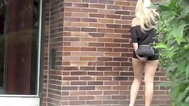 Babes Peeing Outdoor 3