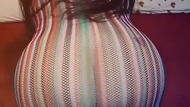 Minha irma mais nova vestidinho transparente de quatro linda