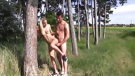 Blonde Teen outdoor