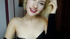 Cute blonde loves to tease - Corin White