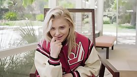 Chloe Grace Moretz is Casual But Cool in Allure