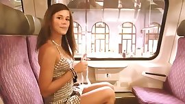 LittleKissMuffin: Girl on a Train Porn Stylee