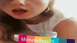 Teen stepsister having fun  Add on Snapchat: MichelleBabe70