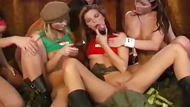 Super Hot Teens Having Sex in Army Camp