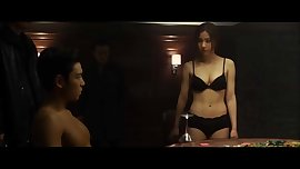 Koean Whore Shin Se Kyung shows her slutty Body