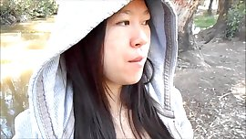 Awesome Amateur Asian Teen Swallows In The Park 720p