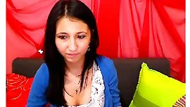 Cute 19yo romanian strips naked.