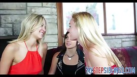Three Teen Lesbian Cousins Fuck