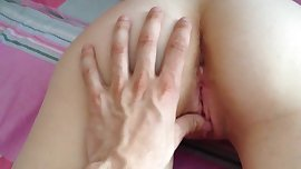 young wife fingering